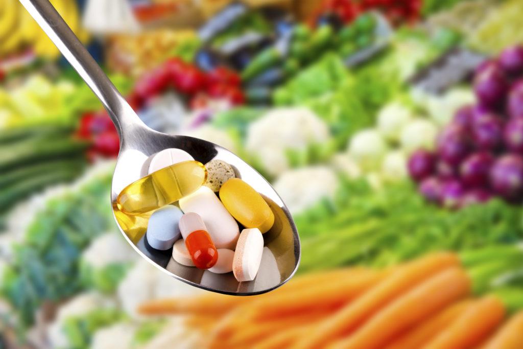 維他命和營養補充品