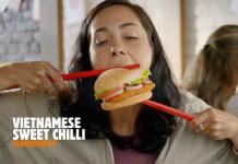 紐西蘭的漢堡王Burger King「把你的味蕾一直帶到胡志明市。」