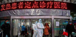 1月25日,武漢紅十字會醫院-在中國承認一種新病毒可能在人與人之間傳播的五天后。但其實它已經開始傳播數週了。赫克托·泰姆塔爾/法新社— Getty Images