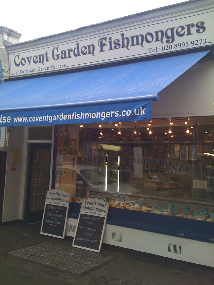 3. 考文特花園魚販(Covent Garden Fishmongers)