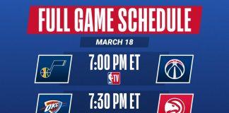 星期四籃球賽程